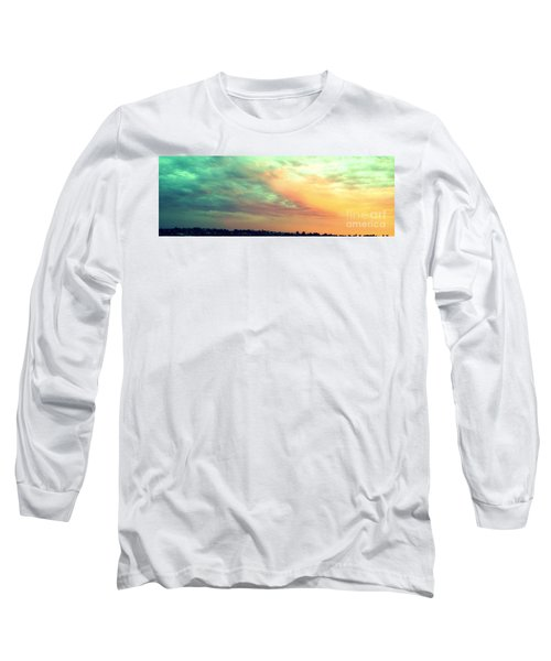 A Sunset Long Sleeve T-Shirt