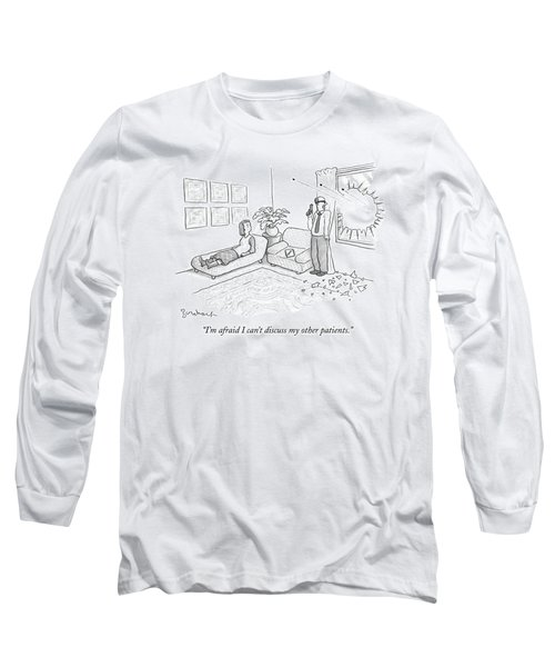 A Therapist Carries On A Gun Shoot-out Long Sleeve T-Shirt