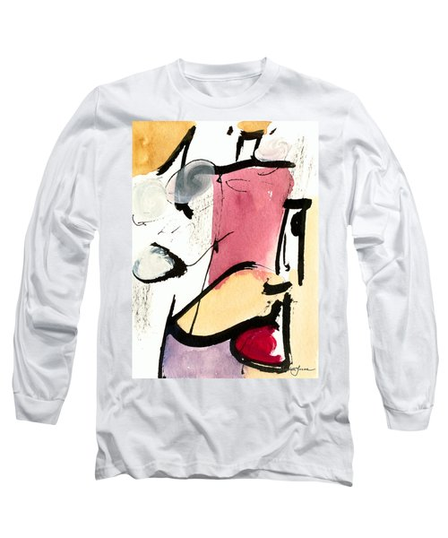 Long Sleeve T-Shirt featuring the painting A Thing Of Beauty by Stephen Lucas