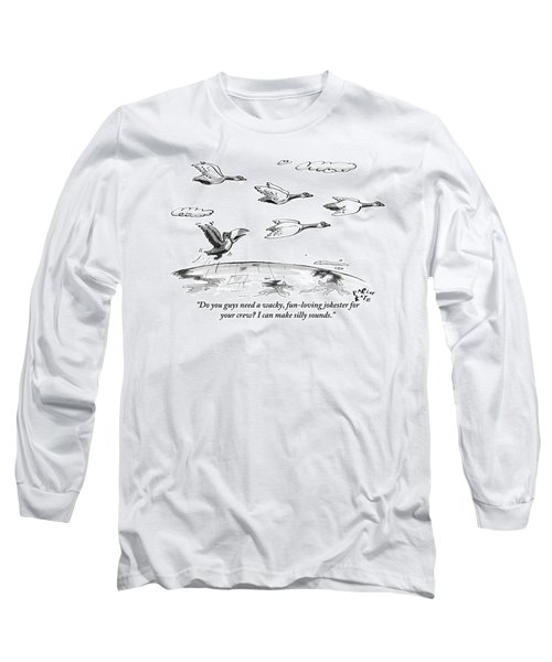 A Toucan Tries To Catch Up With Migrating Canada Long Sleeve T-Shirt