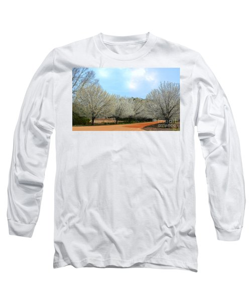 Long Sleeve T-Shirt featuring the photograph A Touch Of Spring by Kathy Baccari
