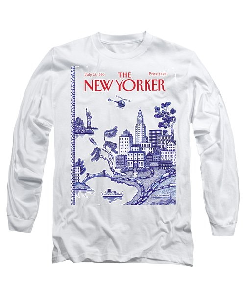 A View Of New York City Long Sleeve T-Shirt