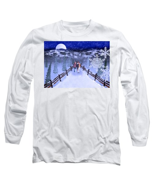 A Walk In The Snow 2 Long Sleeve T-Shirt