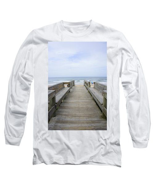Long Sleeve T-Shirt featuring the photograph A Welcoming View by Laurie Perry
