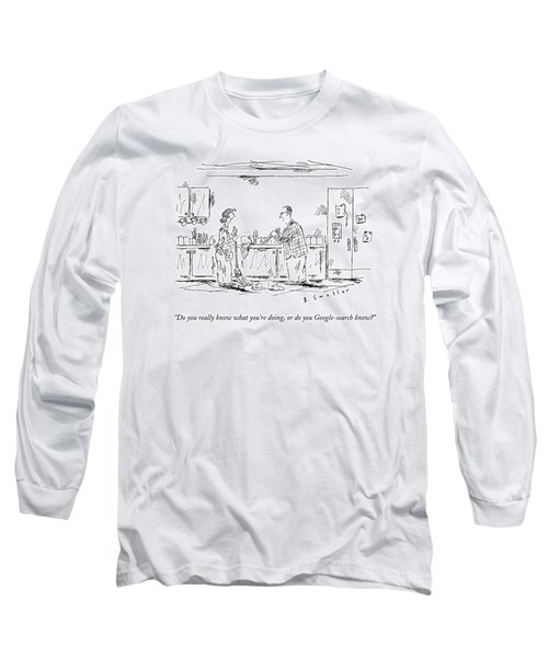 A Wife Speaks To Her Husband Long Sleeve T-Shirt