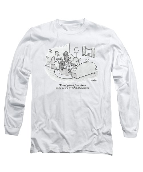 A Wife Tells Guests At A Dinner Party Long Sleeve T-Shirt