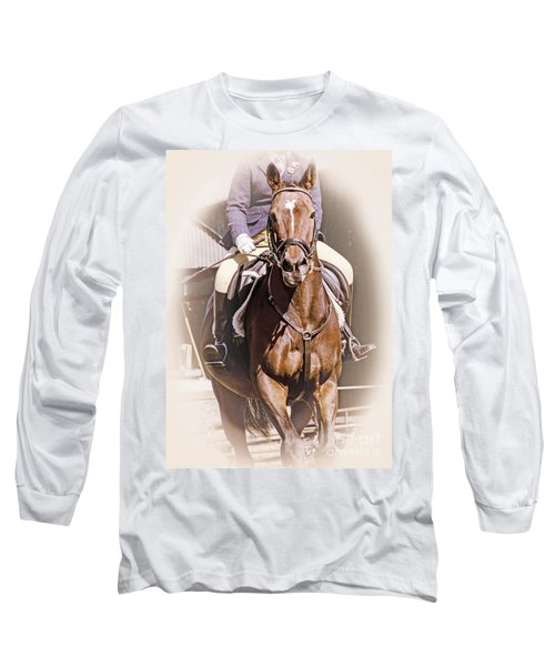 Long Sleeve T-Shirt featuring the photograph A Willing Servant by Linsey Williams