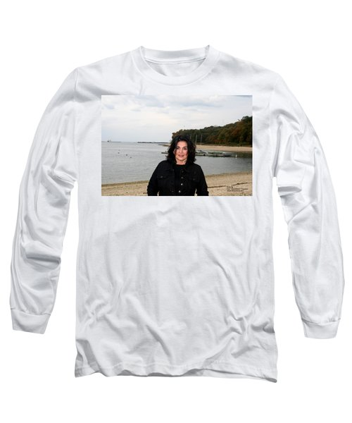 Long Sleeve T-Shirt featuring the photograph A Windy Day by Paul SEQUENCE Ferguson             sequence dot net