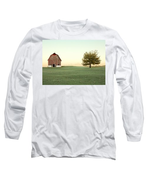 A Wisconsin Postcard Long Sleeve T-Shirt