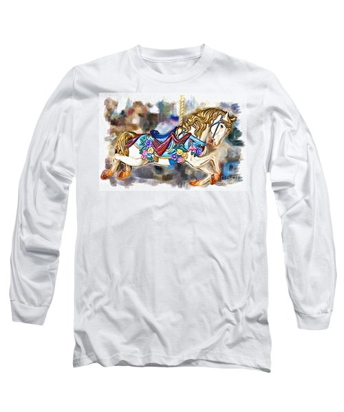 A World Of Popcorn And Candy Long Sleeve T-Shirt