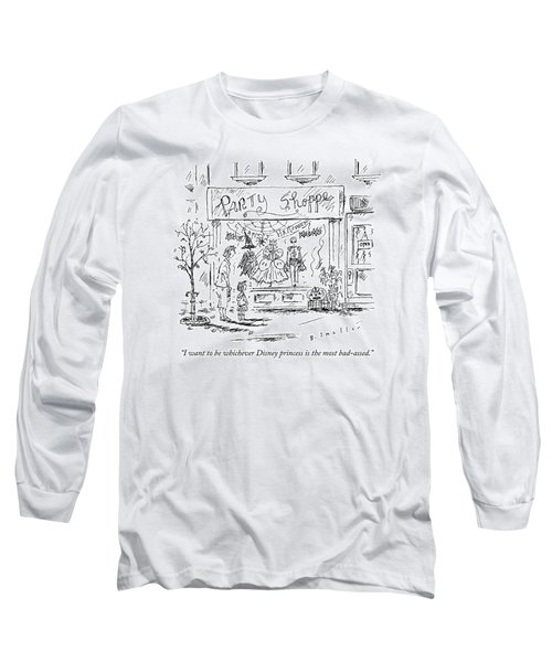 A Young Girl Tells Her Mother Long Sleeve T-Shirt