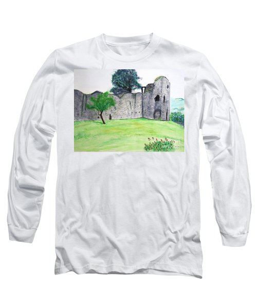 Abergavenny Castle Long Sleeve T-Shirt