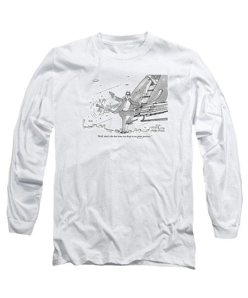 Above A City Long Sleeve T-Shirt