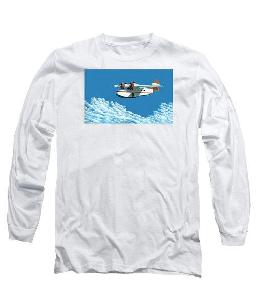 Above It All  The Grumman Goose Long Sleeve T-Shirt