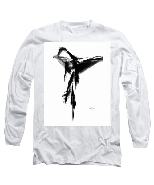 Abstract Flamenco Long Sleeve T-Shirt
