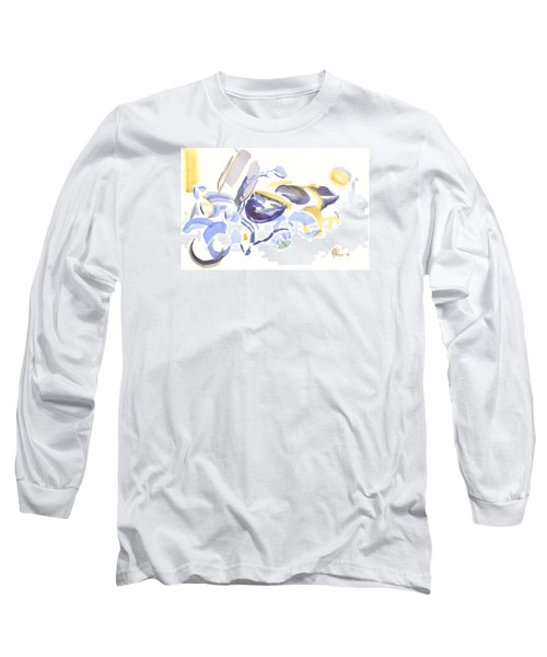 Abstract Motorcycle Long Sleeve T-Shirt by Kip DeVore