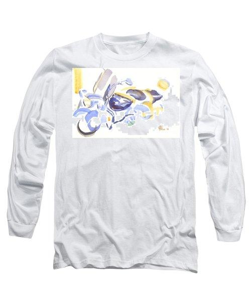 Abstract Motorcycle Long Sleeve T-Shirt