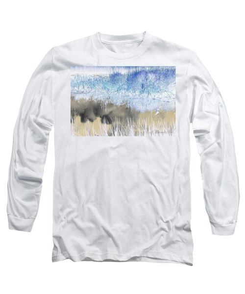 Abstract Marsh  Long Sleeve T-Shirt