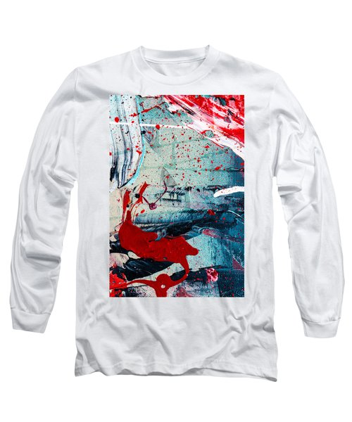 Abstract Original Artwork One Hundred Phoenixes Untitled Number Six Long Sleeve T-Shirt