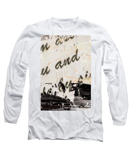 Abstract Original Painting Number Six Long Sleeve T-Shirt