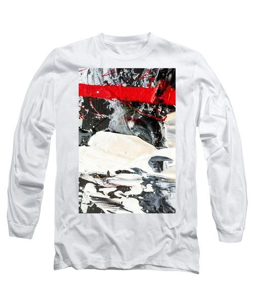 Abstract Original Painting Number Three Long Sleeve T-Shirt
