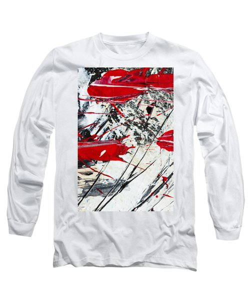 Abstract Original Painting Untitled Ten Long Sleeve T-Shirt