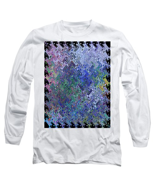 Abstract Reflections Long Sleeve T-Shirt
