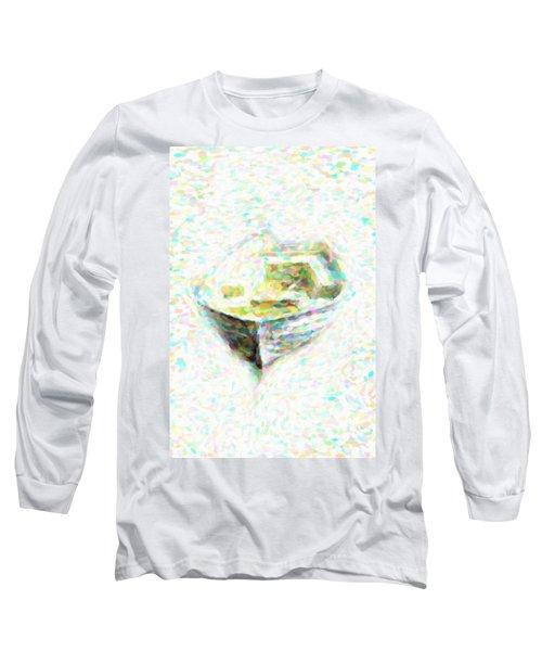 Abstract Rowboat Long Sleeve T-Shirt