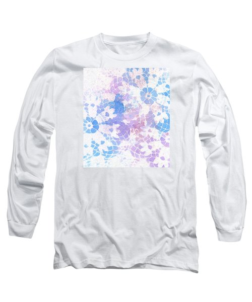 Abstract Vintage Lace Long Sleeve T-Shirt