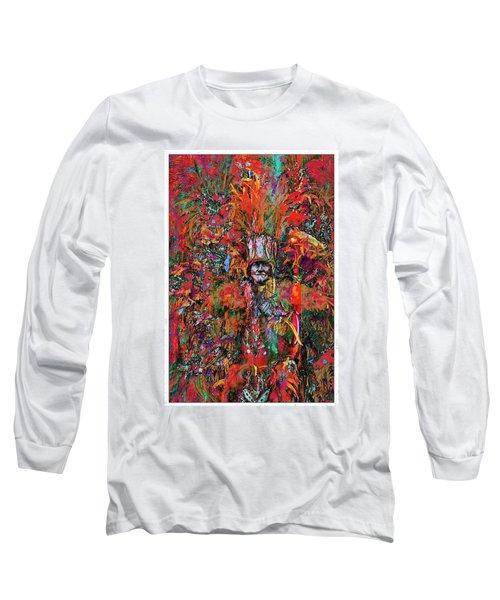 Abstracted Mummer Long Sleeve T-Shirt