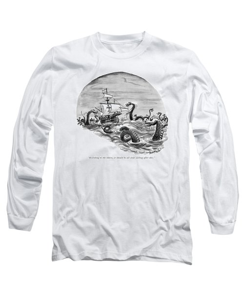 According To The Charts Long Sleeve T-Shirt