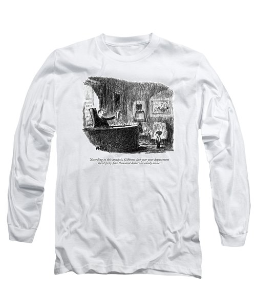 According To This Analysis Long Sleeve T-Shirt