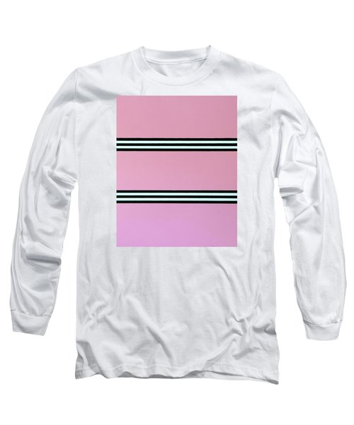 Long Sleeve T-Shirt featuring the painting Action by Thomas Gronowski