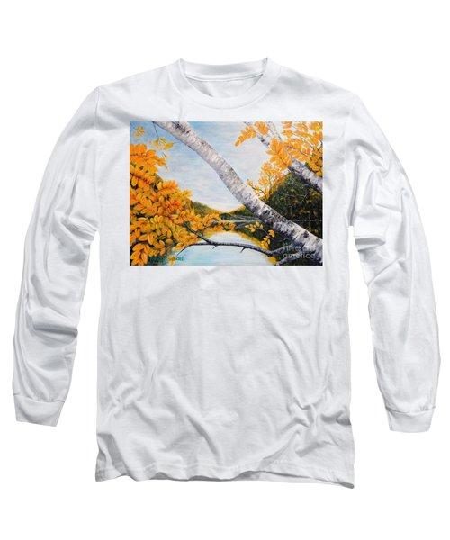 Adirondacks New York Long Sleeve T-Shirt