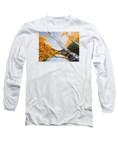 Adirondacks New York Long Sleeve T-Shirt