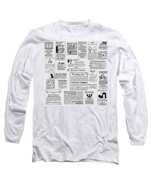 Advert - For The Ladies Long Sleeve T-Shirt