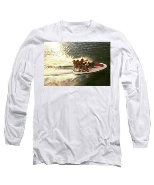 Aerial View A Family Racing Long Sleeve T-Shirt