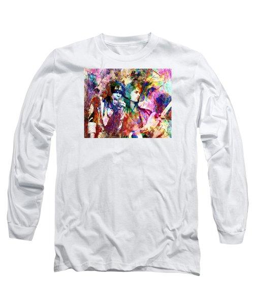 Aerosmith Original Painting Long Sleeve T-Shirt