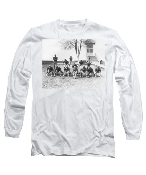 African American Football Team Long Sleeve T-Shirt