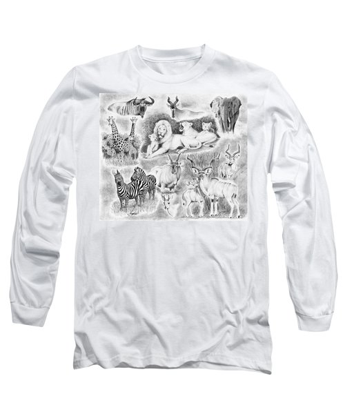 African Safari Long Sleeve T-Shirt