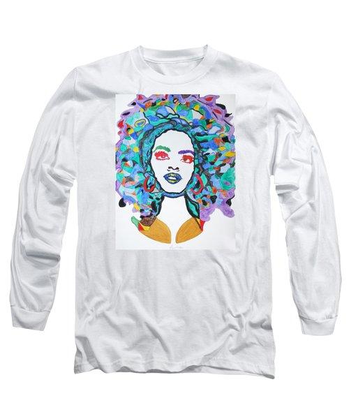 Afro Lauryn Hill  Long Sleeve T-Shirt