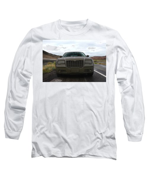 Aftermath Of The Mud Flood And Suddenly Things Went Dark Long Sleeve T-Shirt by Lon Casler Bixby