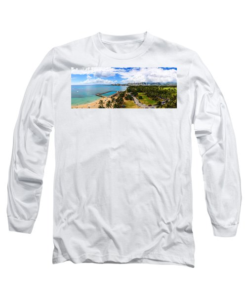 Afternoon On Waikiki Long Sleeve T-Shirt