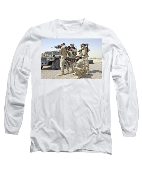 Long Sleeve T-Shirt featuring the photograph Air Force Squadron by Science Source