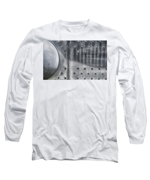 Aircraft Aluminum Two Long Sleeve T-Shirt by Gary Warnimont