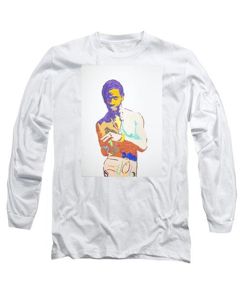 Al Green Long Sleeve T-Shirt by Stormm Bradshaw