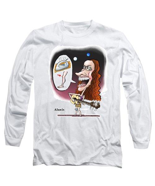 Alanis Morissette Long Sleeve T-Shirt