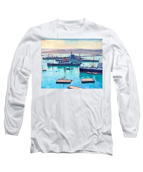 Albert In The Window Long Sleeve T-Shirt