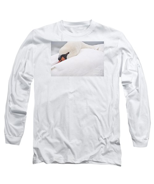 Long Sleeve T-Shirt featuring the photograph Alert Rest by Simona Ghidini