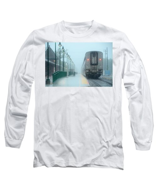 All Aboard Long Sleeve T-Shirt by Charlotte Schafer